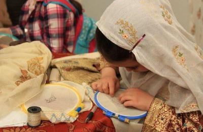 Кубачинское золотое шитье представят на выставке в Махачкале