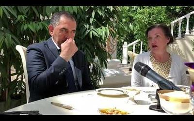 Встреча главы Республики Ингушетия с представителями Гильдии межэтнической журналистики