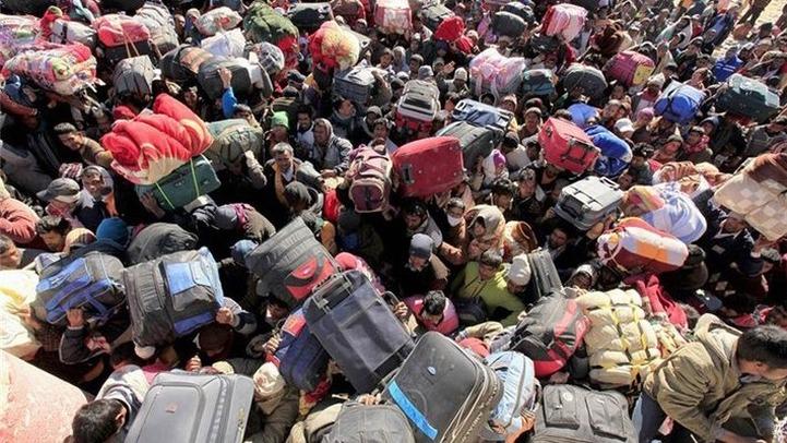 Минтруд пообещал работу украинским беженцам