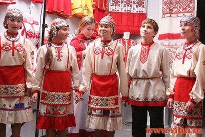 В Ульяновске устроили праздник чувашского костюма