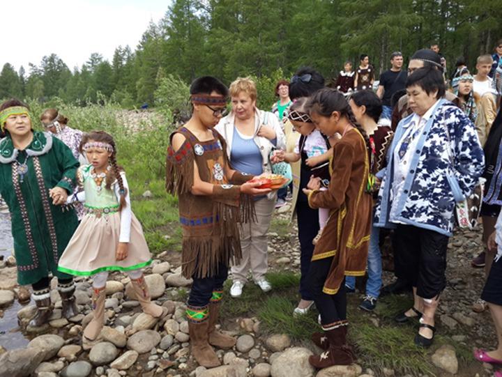 Якутские эвенки встретили Новый год
