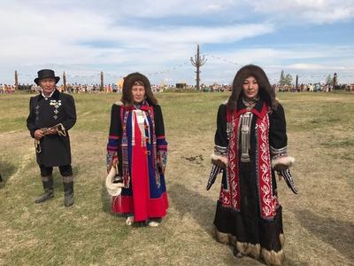 Якутяне в национальных костюмах попали в Книгу рекордов Гиннесса