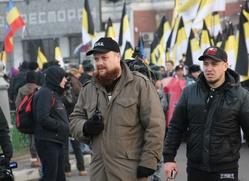"Дмитрий Демушкин запатентует ""Русский марш"""