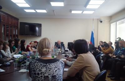 """Победители """"СМИротворца"""" встретились с членами Комитета Госдумы по делам национальностей"""