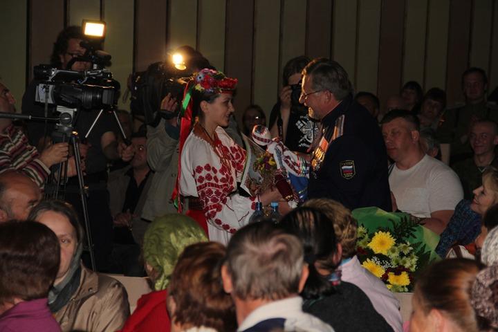 """""""Оптинская весна - 2012"""", гости фестиваля в Козельске"""