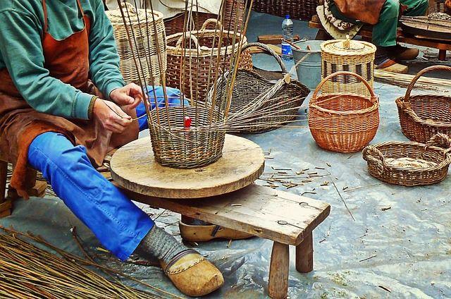 Ремесло плетения корзин