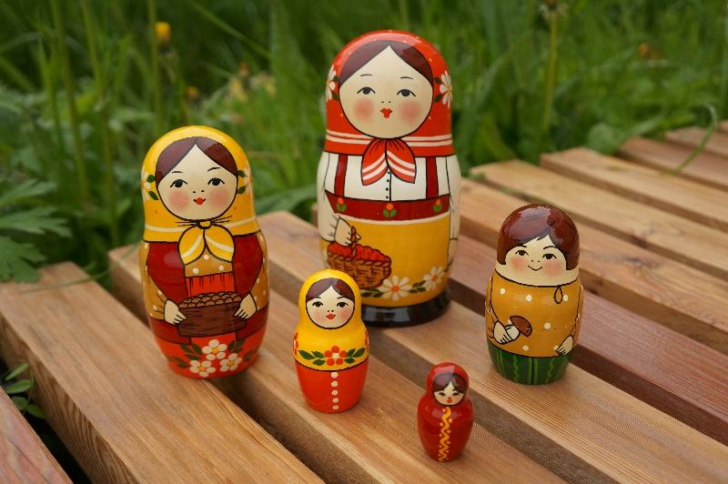 Русская игрушка с японскими корнями