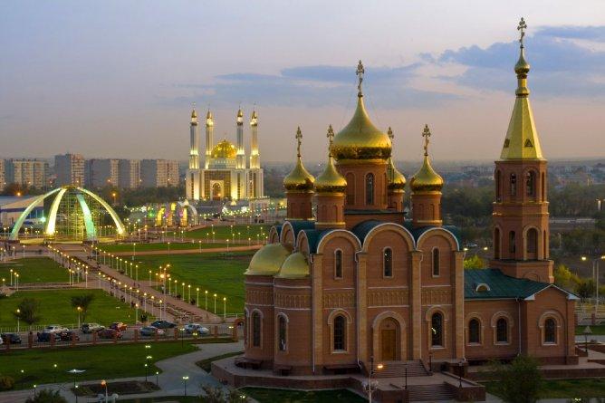 Христианство, ислам и буддизм мирно сосуществуют в России
