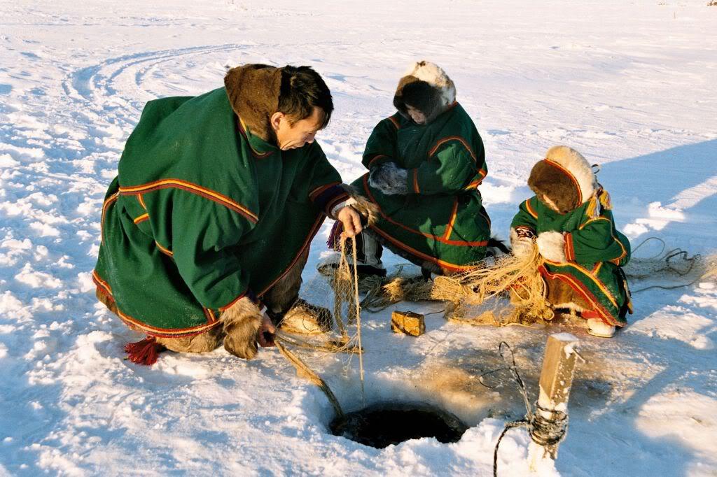 видео о рыбалке на крайнем севере россии
