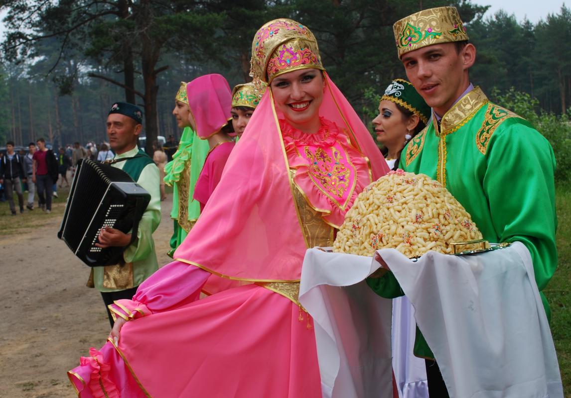 праздник у татар сабантуй фото