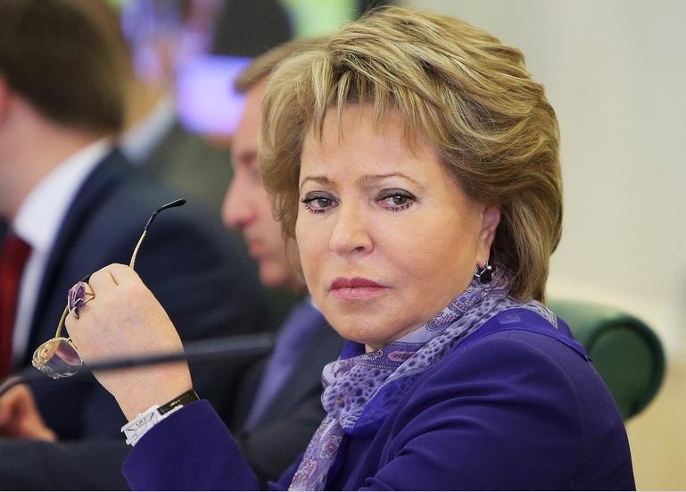 Матвиенко назвала поспешным изъятие детей измногодетной семьи