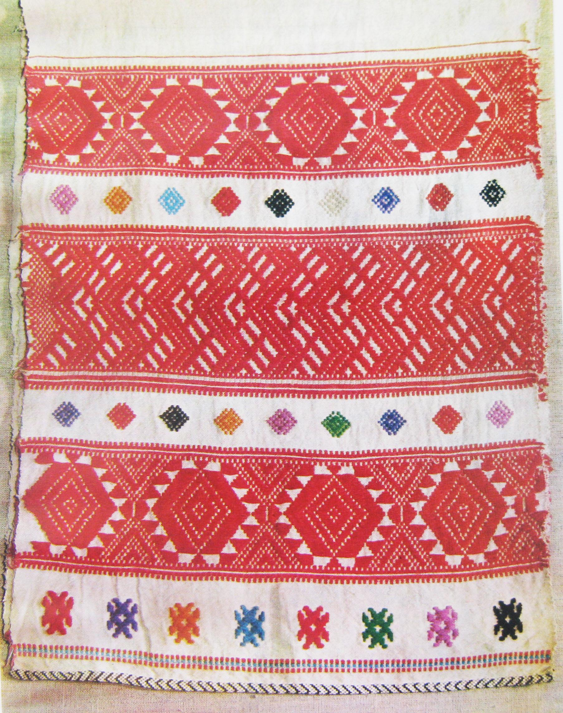 Удмуртская вышивка и орнамент 39