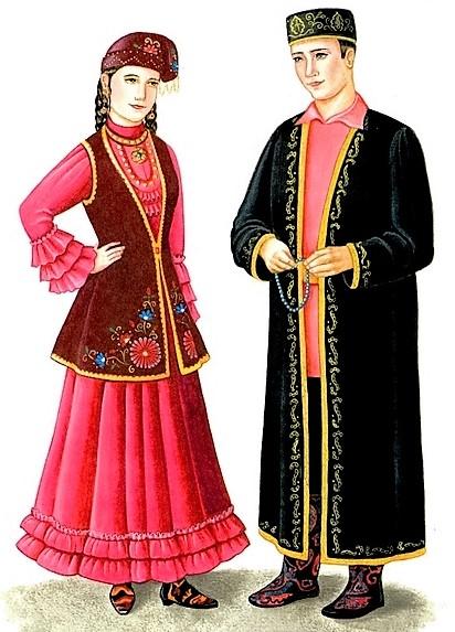 Татарские национальные платья купить