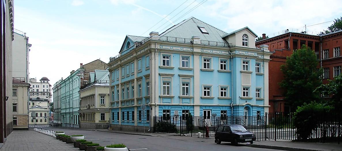 Спасоналивковский переулок Москва