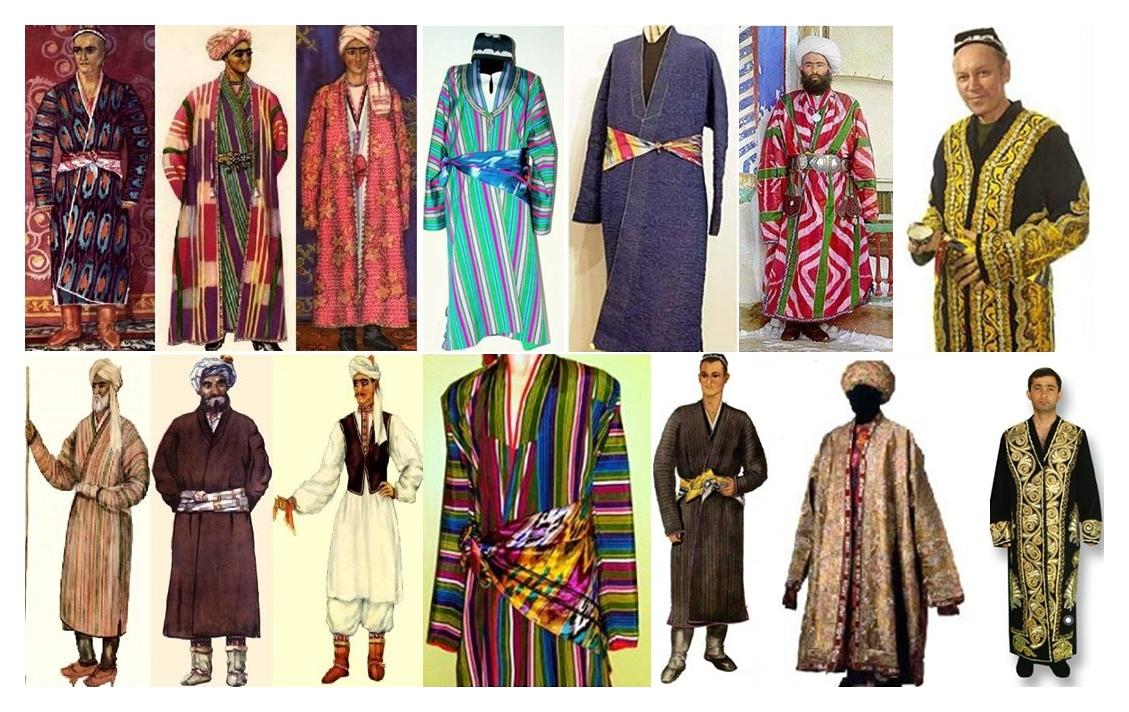 таджикский мужской костюм