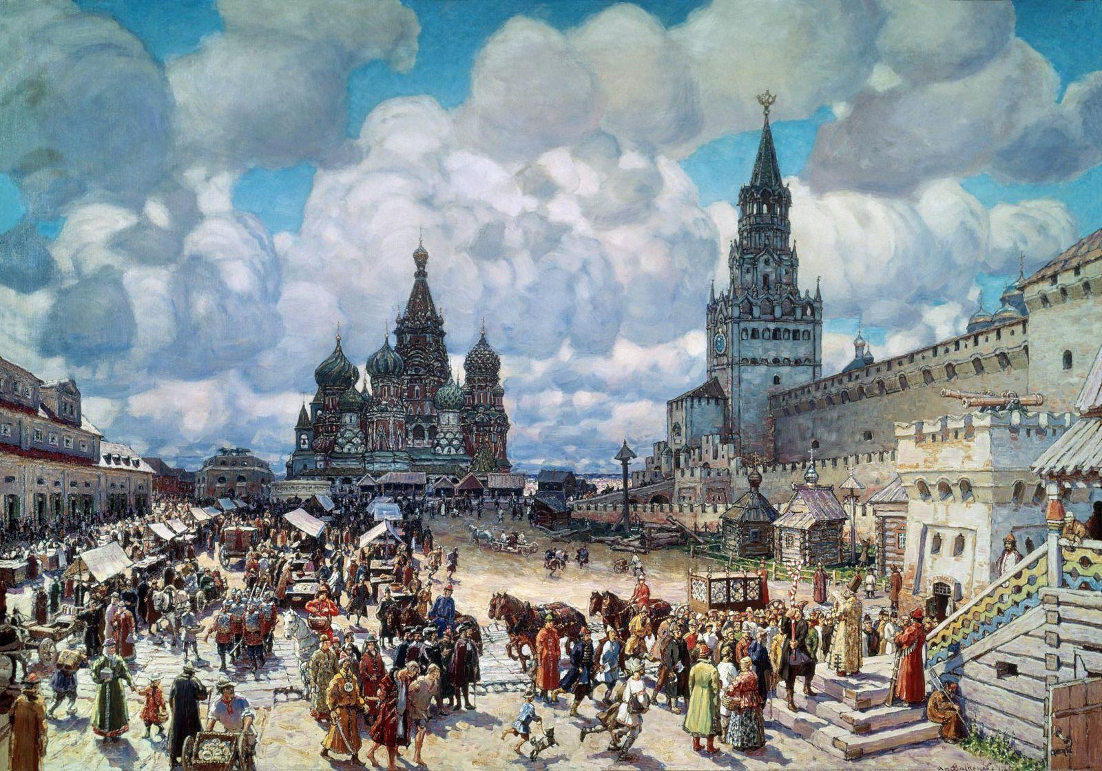 Москва 16 век