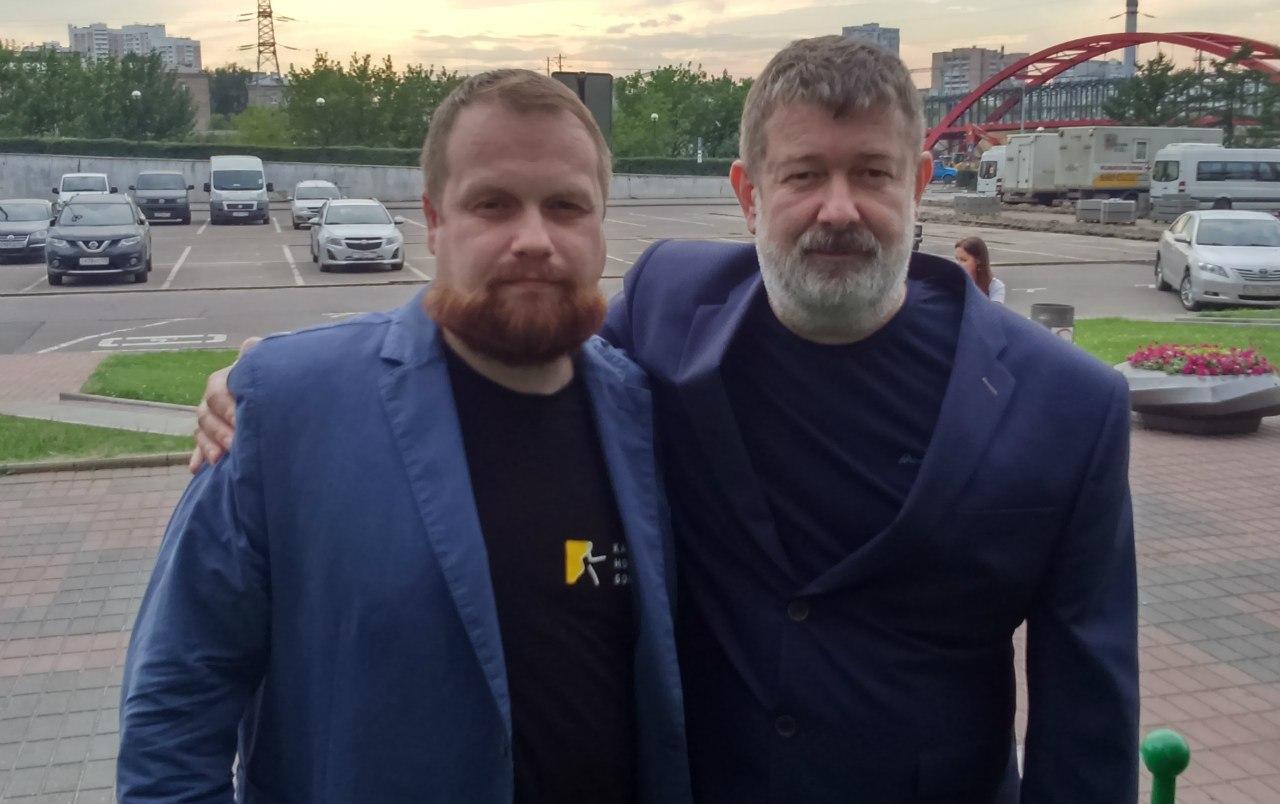 Дмитрий Демушкин и Вячеслав Мальцев
