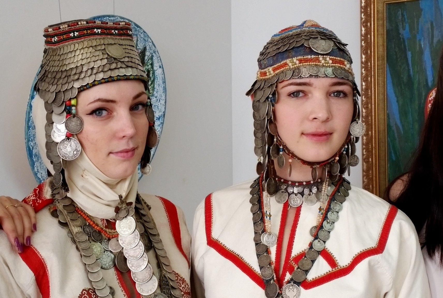 чувашский костюм