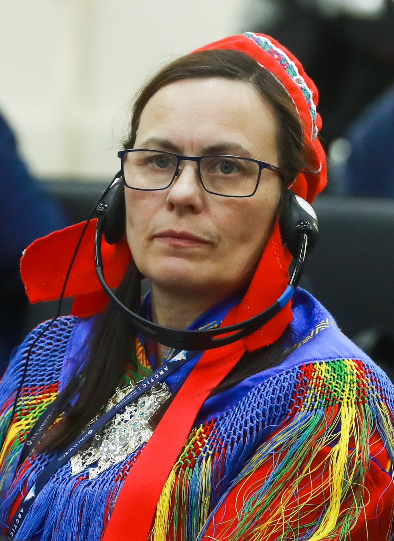 Участница форума. Фото: forumarctica.tassphoto.com
