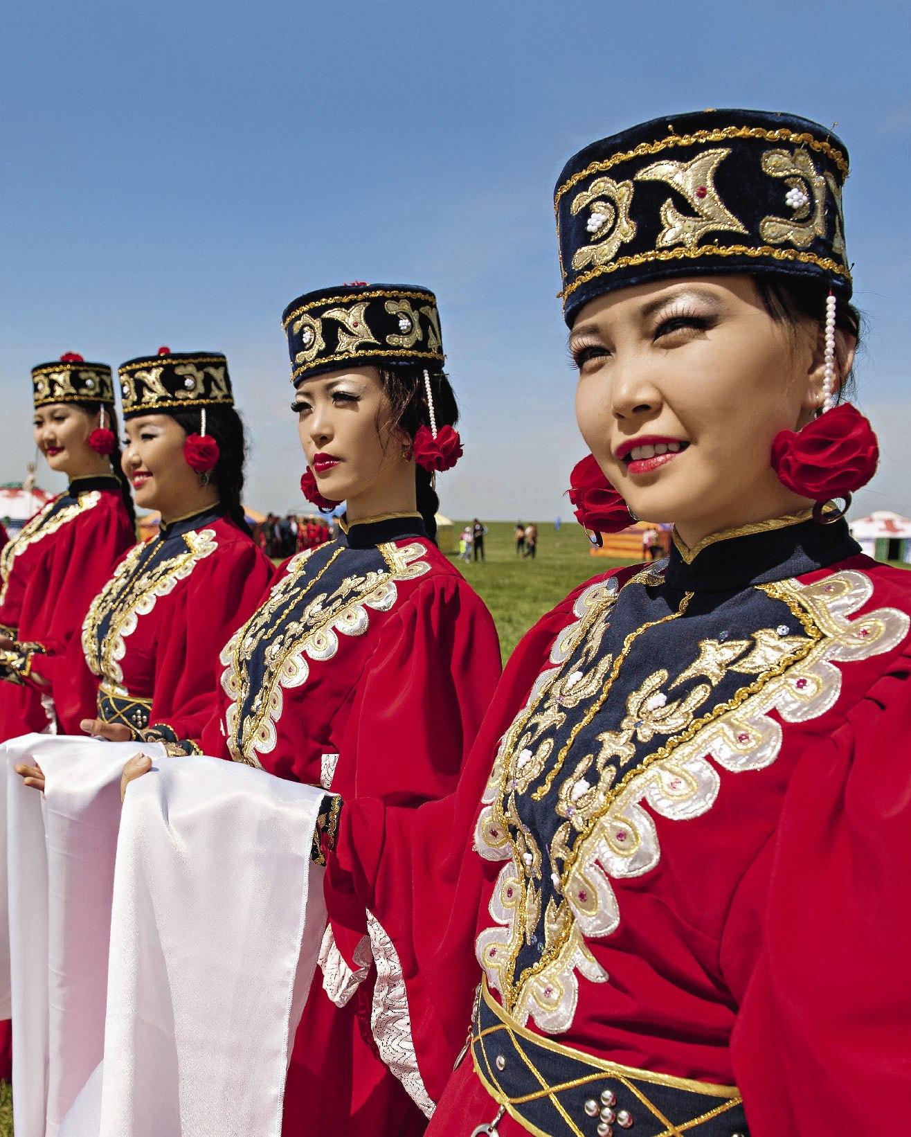 Фото калмыцких девушек
