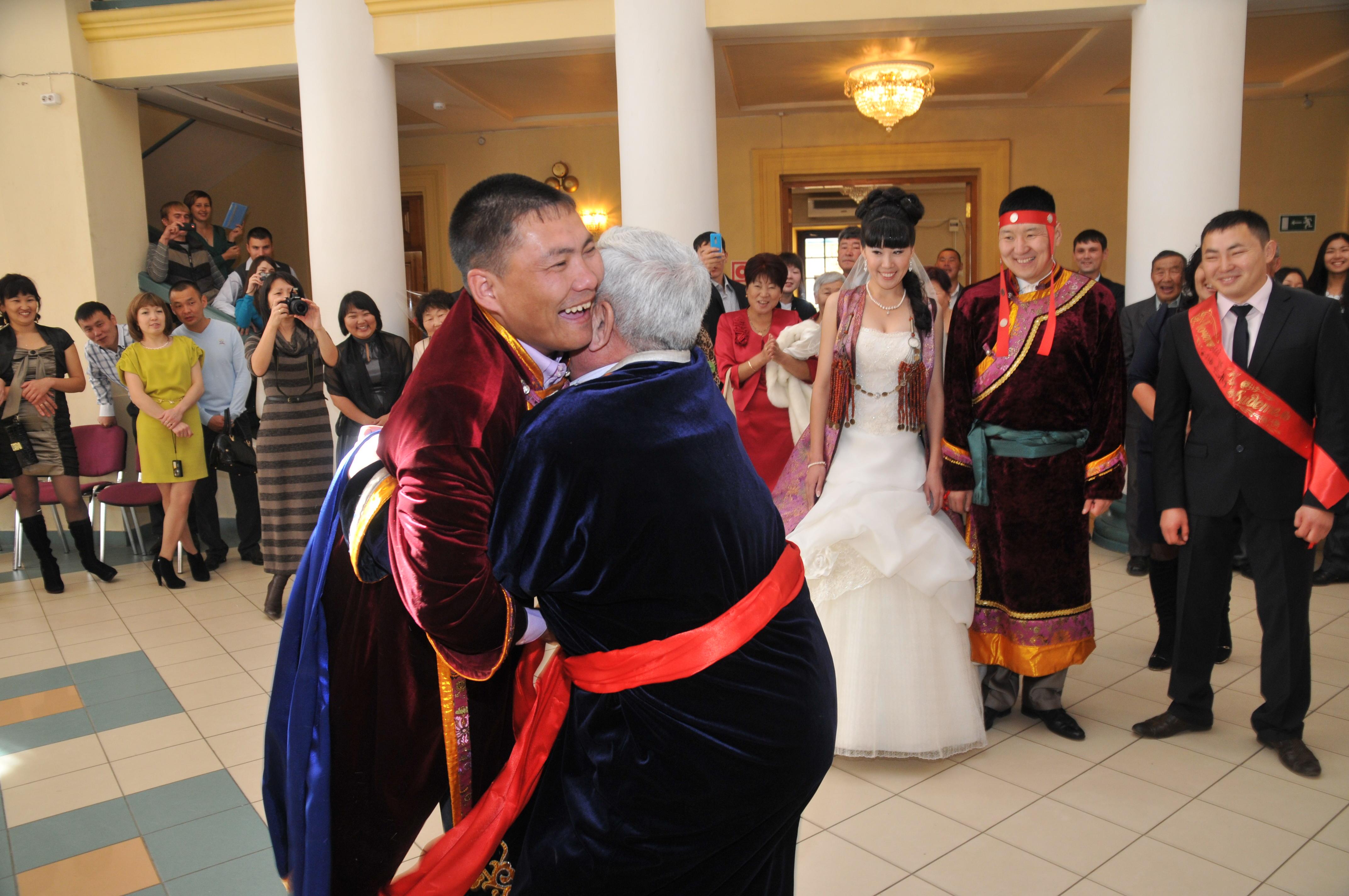 Бурятская свадьба