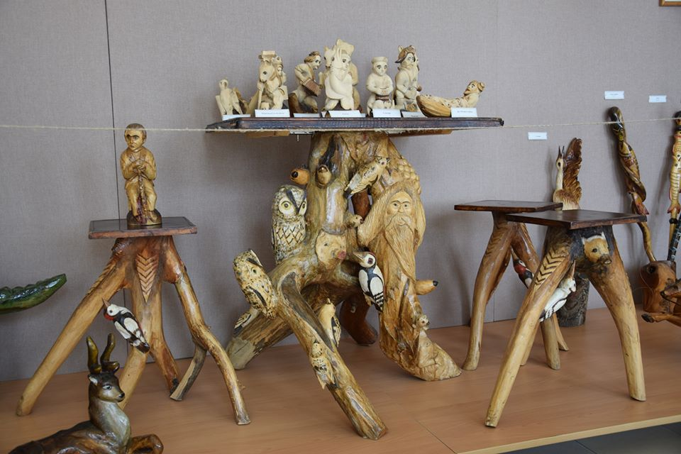деревянные елецкие скульптуры