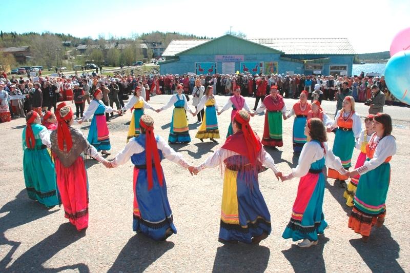 поморский фестиваль северного фольклора Баренцева  региона в Умбе