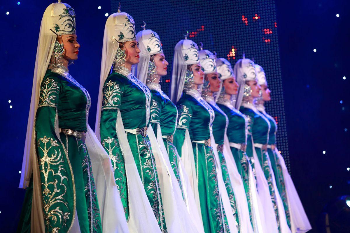 кавказский танец ансамбль Эльбрусоид