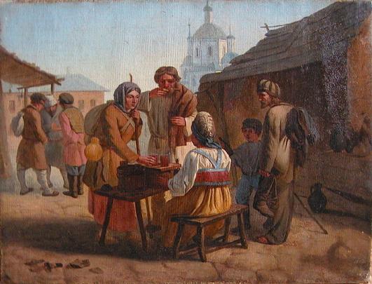 Калистов (Каллекстов) Василий Ефимович. Продажа кваса,1862