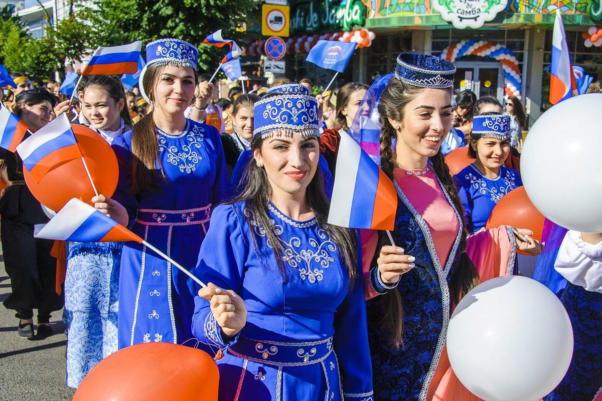 Парад дружбы народов России. Фото: ОП Краснодарского края