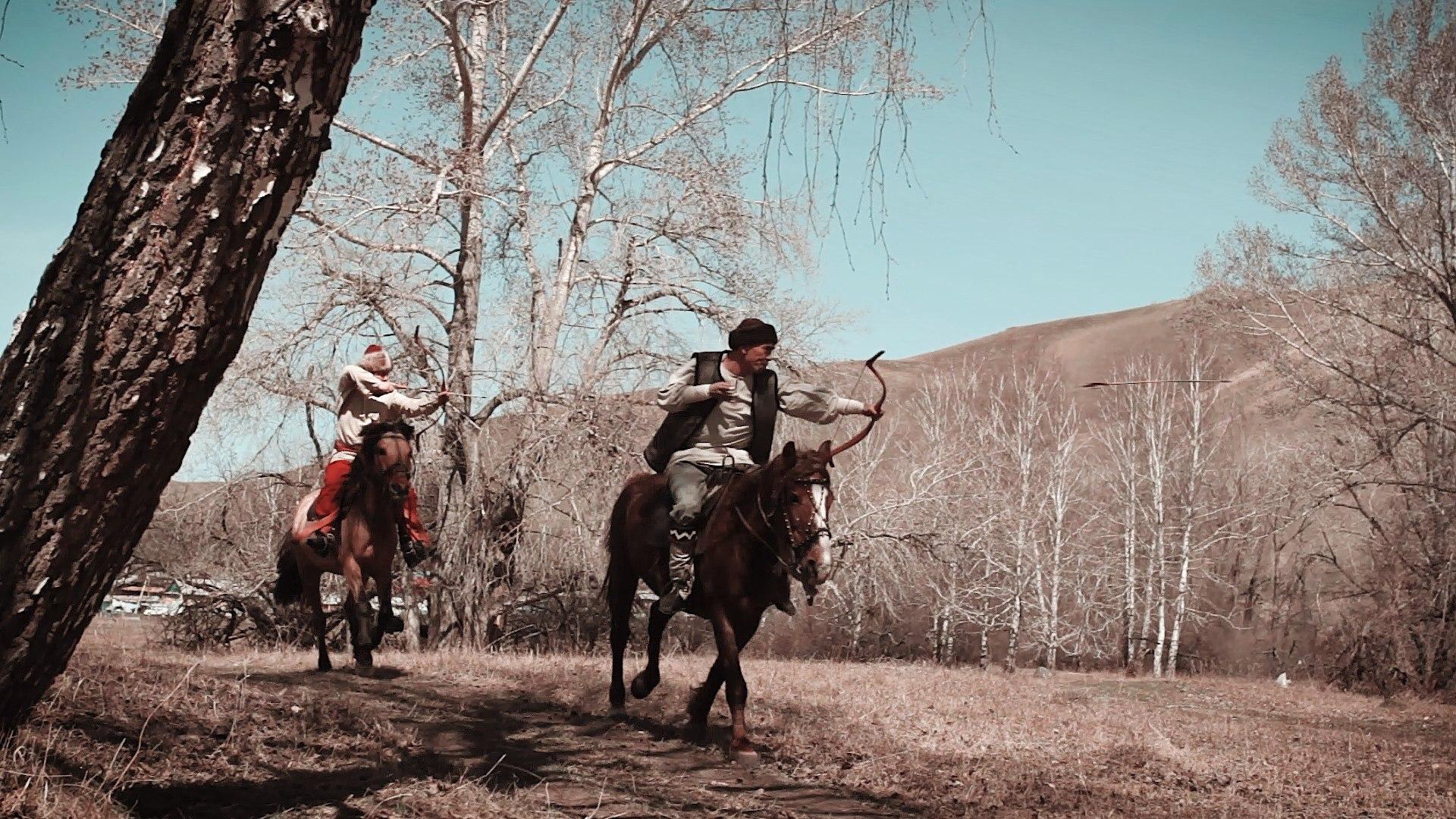 конно-верховая стрельба из традиционного лука