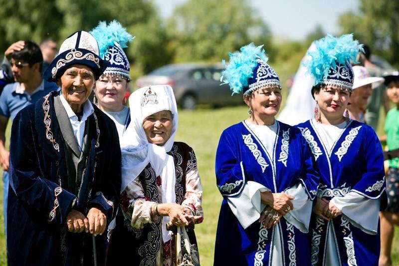 Казахи, Оренбургская область, степной той