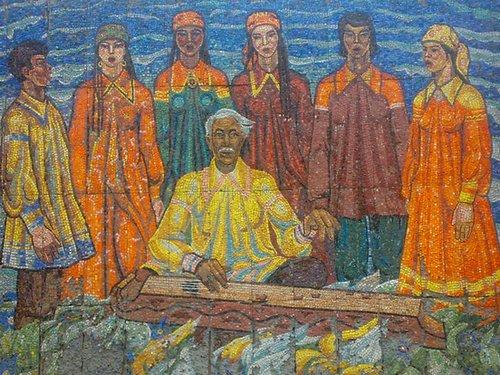 фольклор, обычаи и прикладное искусство хакасов