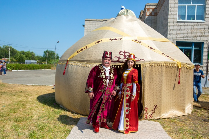 ногайская юрта и ногайцы