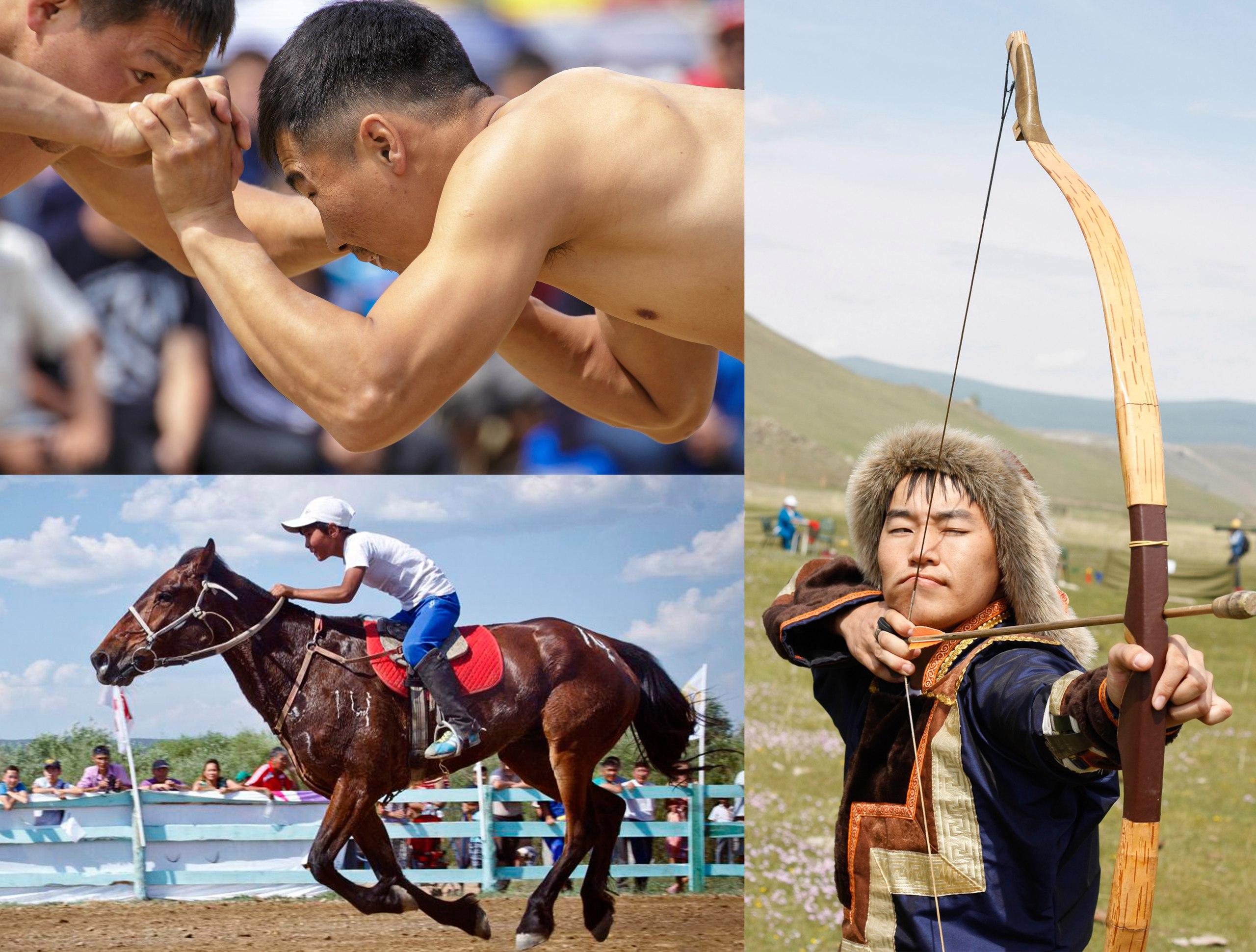Игры трех мужей, буряты, иркутская область