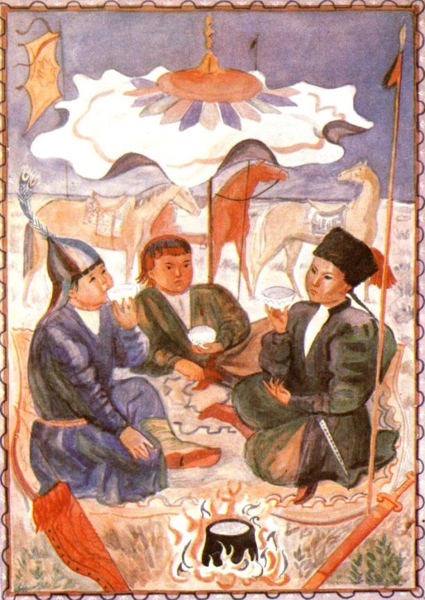 Фольклор и семейные традиции калмыков