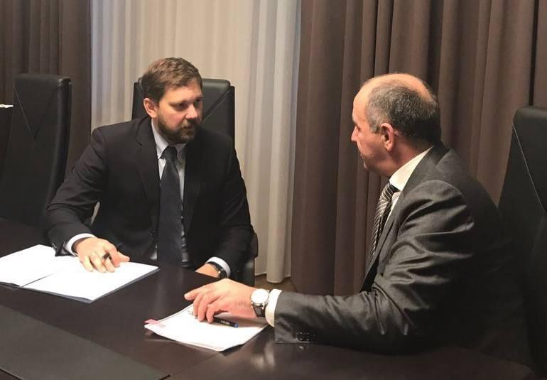 Игорь Баринов с главой КЧР