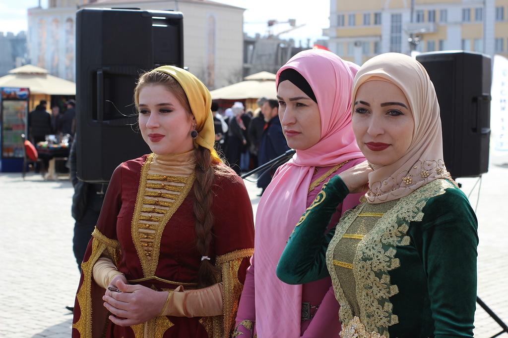 фестиваль черемши в Грозном
