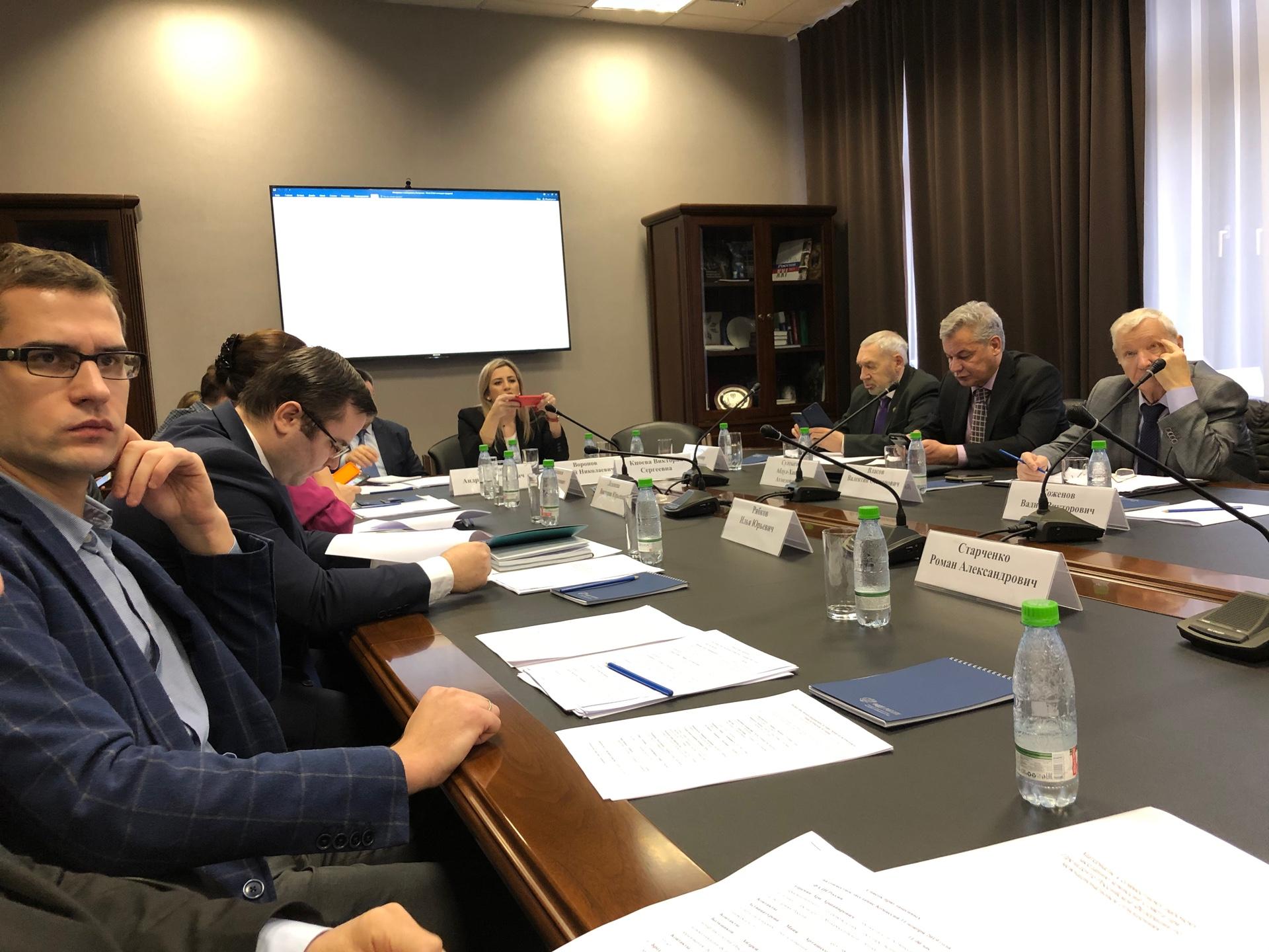 Заседание комиссий президентского Совета по межнациональным отношениям