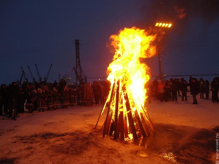 фольклор, язык и обычаи энцев