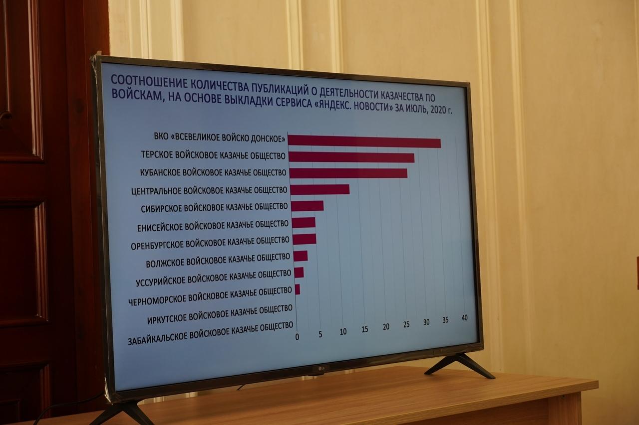 Лучше всех в информационном пространстве работают донские, терские и кубанские казаки