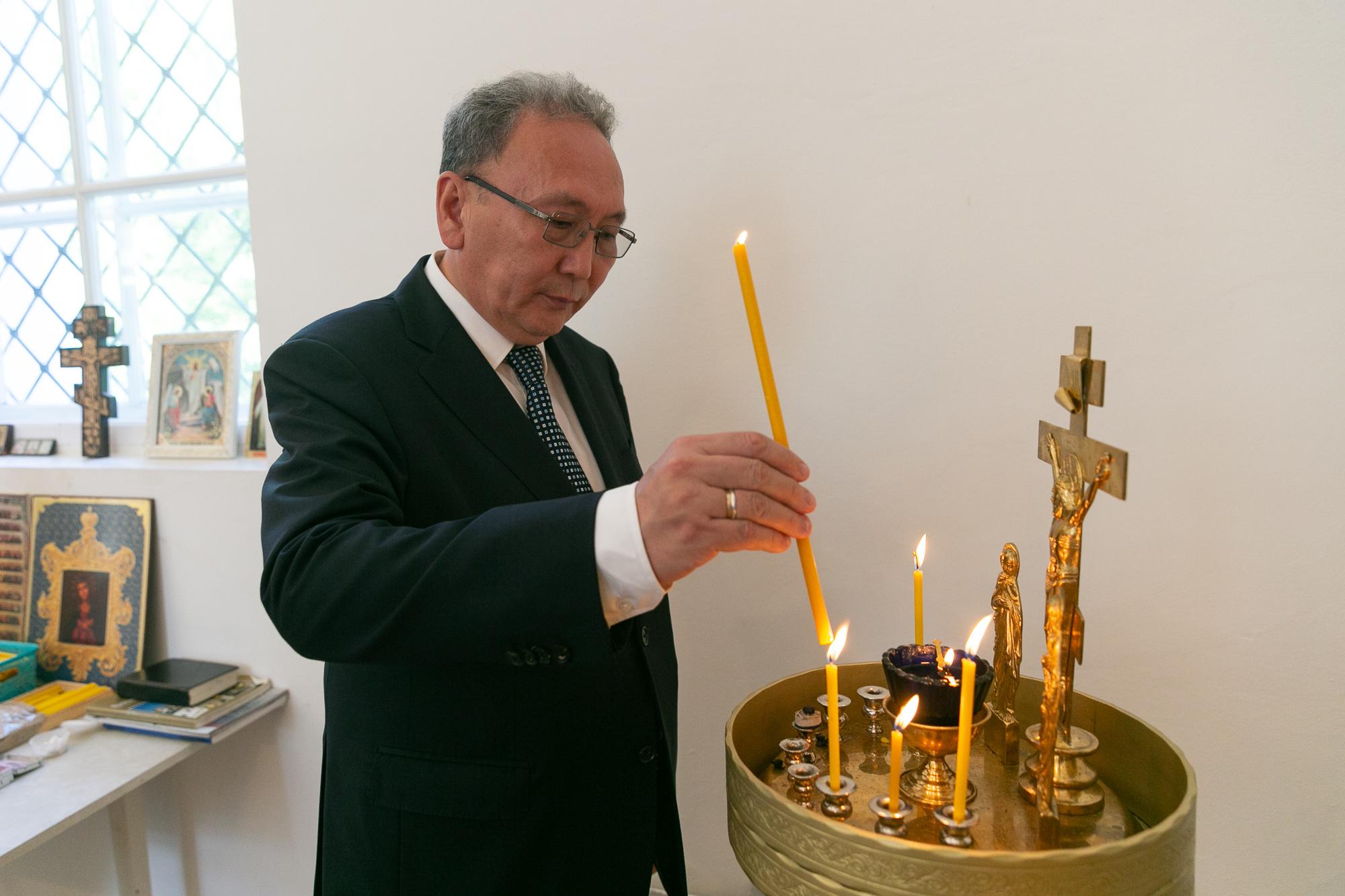 Андрей Федотов постоянный представитель Республики Саха (Якутия) при Президенте РФ
