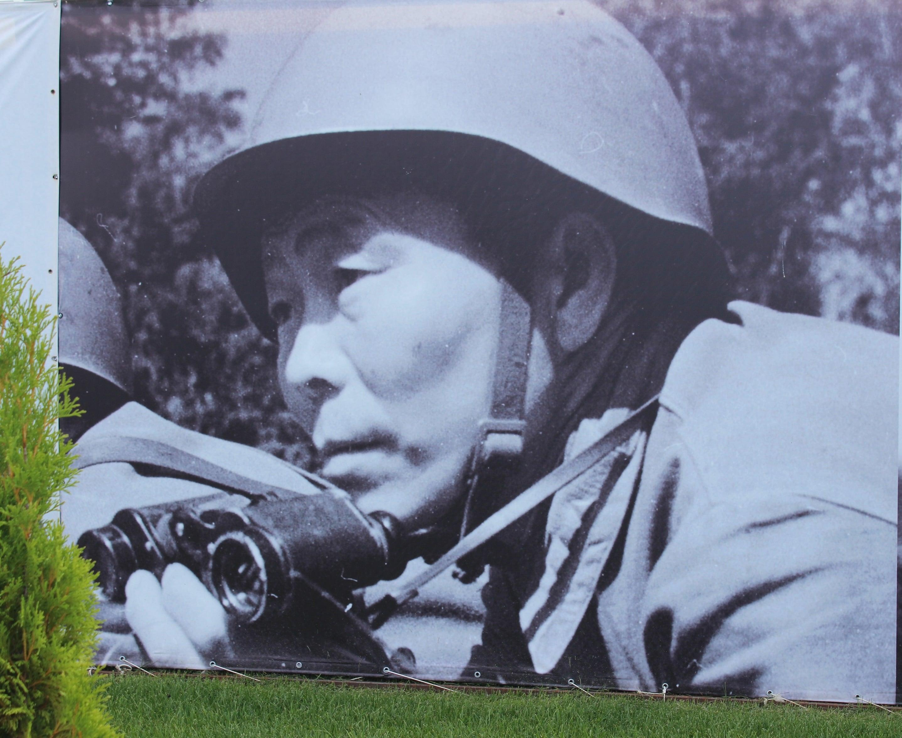 Федор Матвеевич Охлопков - Герой Советского Союза, один из лучших снайперов Великой Отечественной