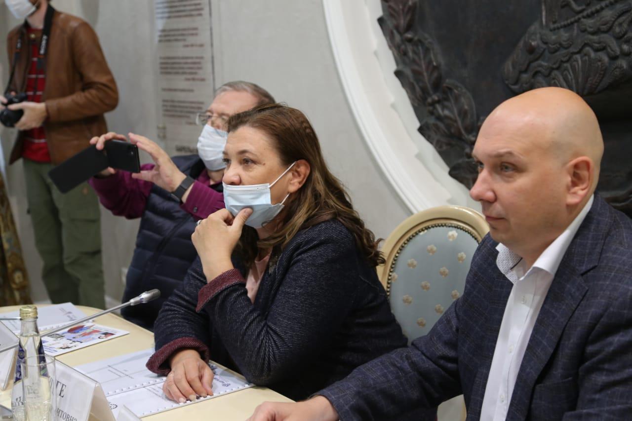 Владимир Зорин, Маргарита Лянге и Станислав Бедкин