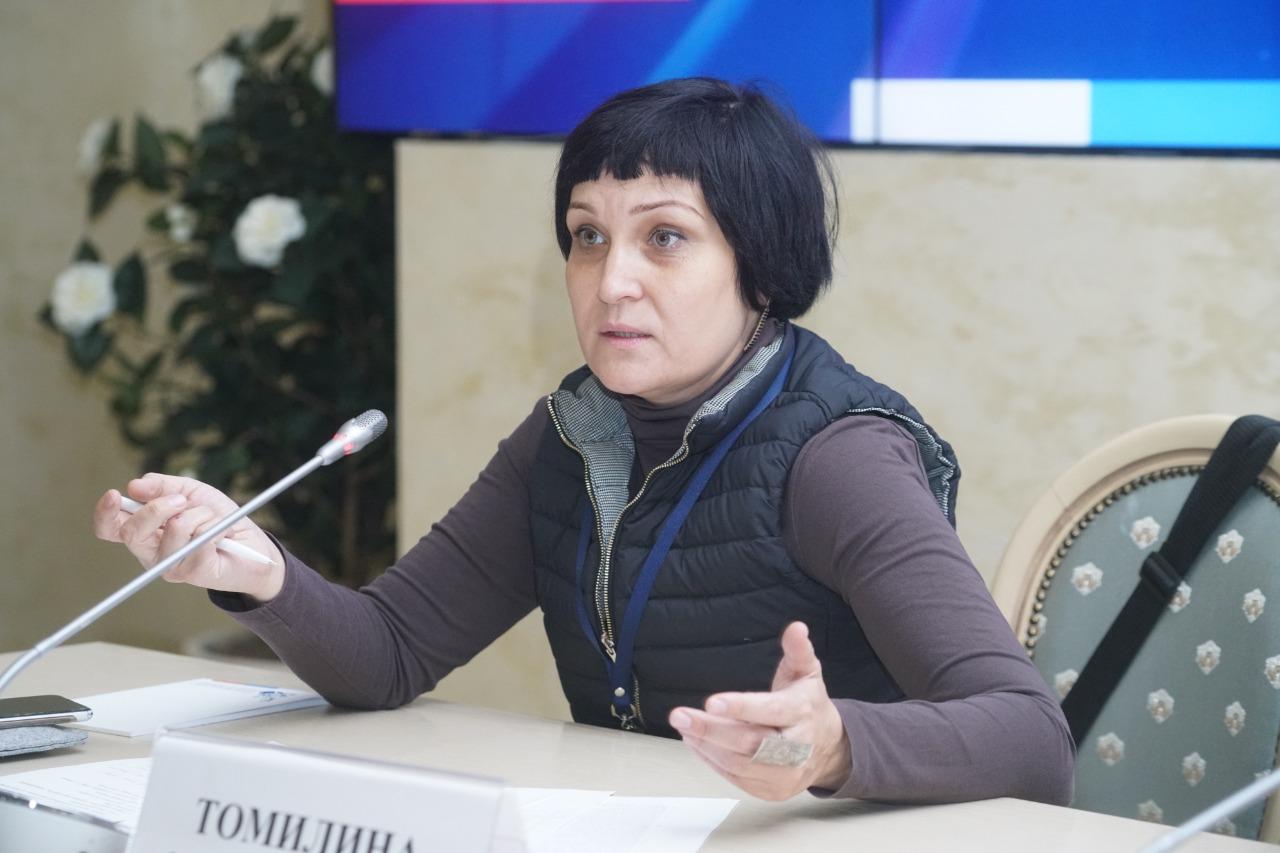 Журналист-наставник из Оренбурга Инна Томилина