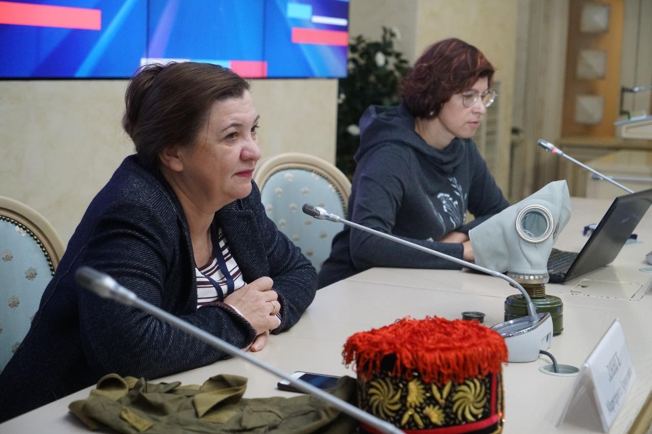Маргарита Лянге и Полина Романова - наставники Школы межэтнической журналистики  и