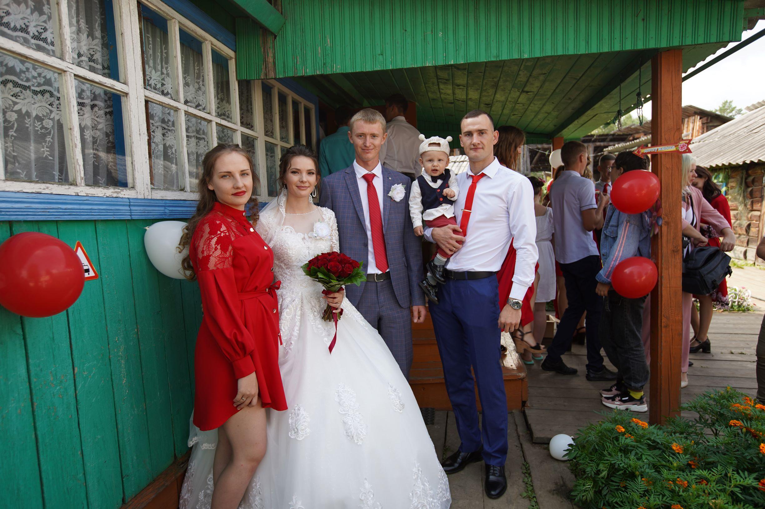 Свадьба у дома
