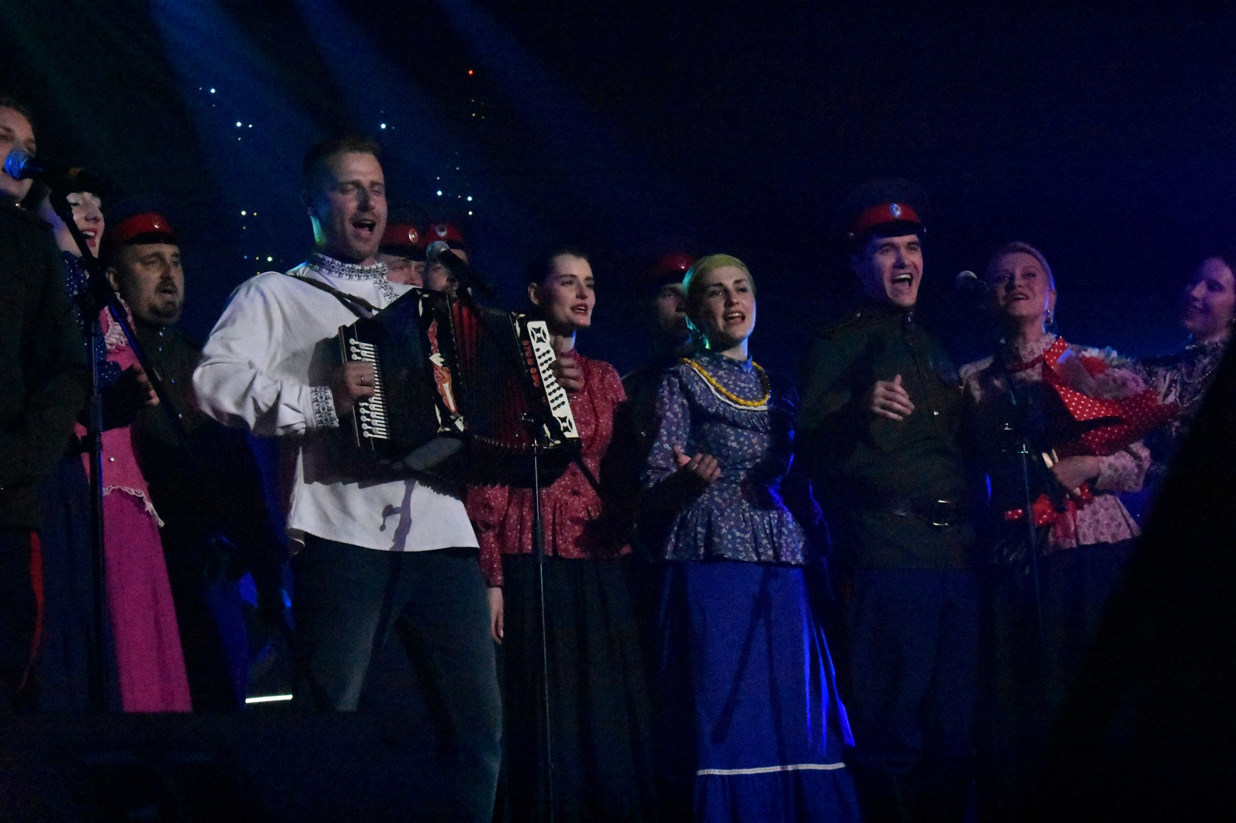 Оптинский казачий хор