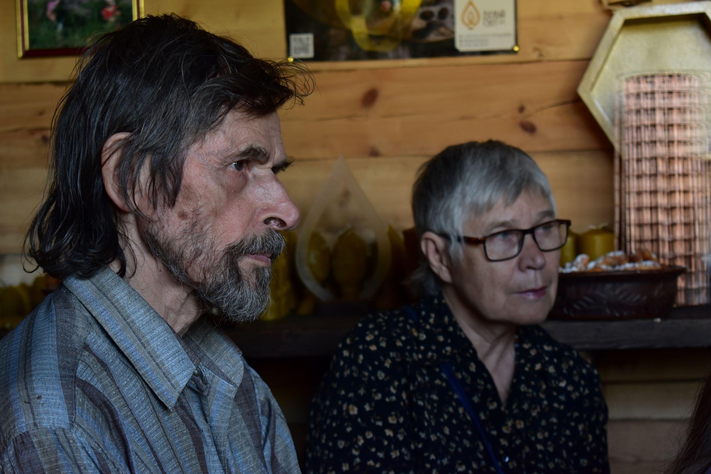 Писатели Пётр Столповский и Елена Габова