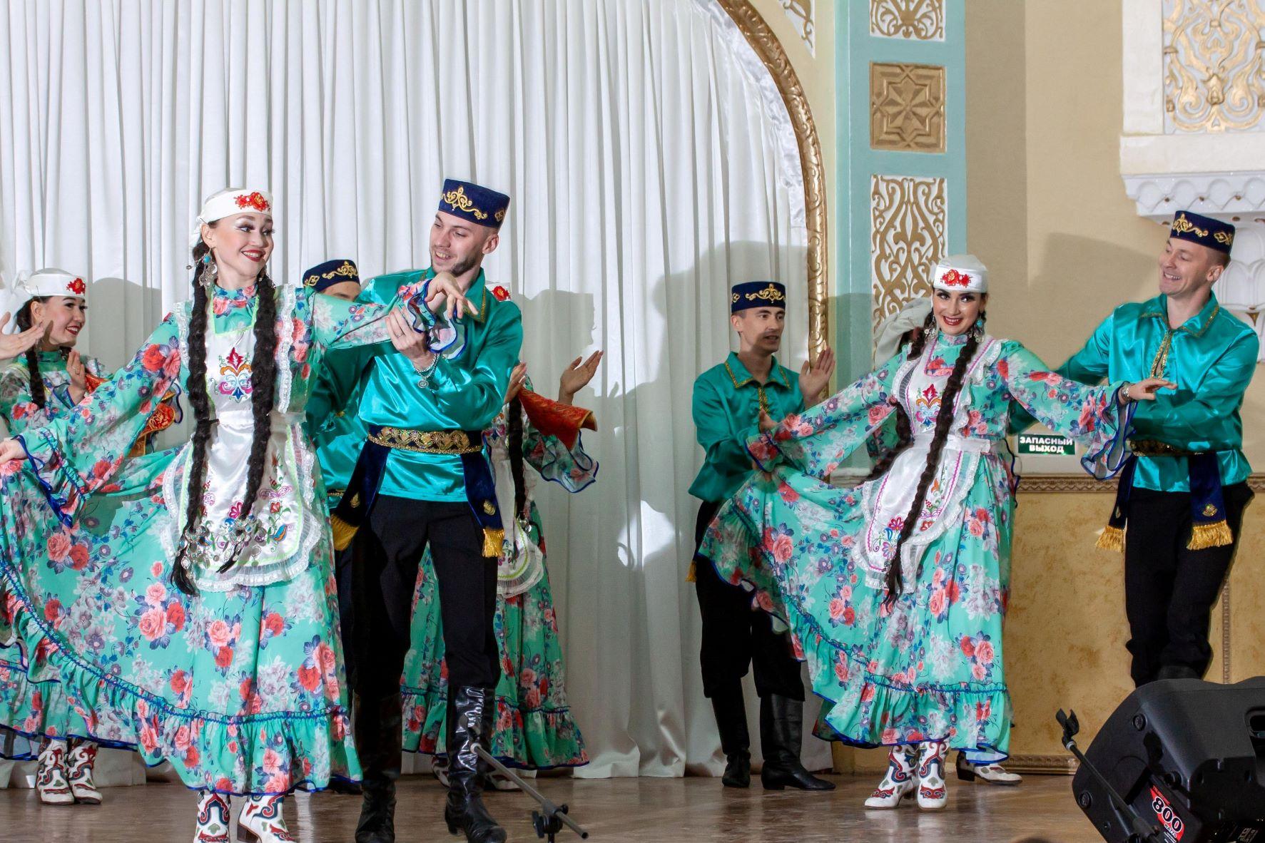 Ансамбль татарского танца Ильдан